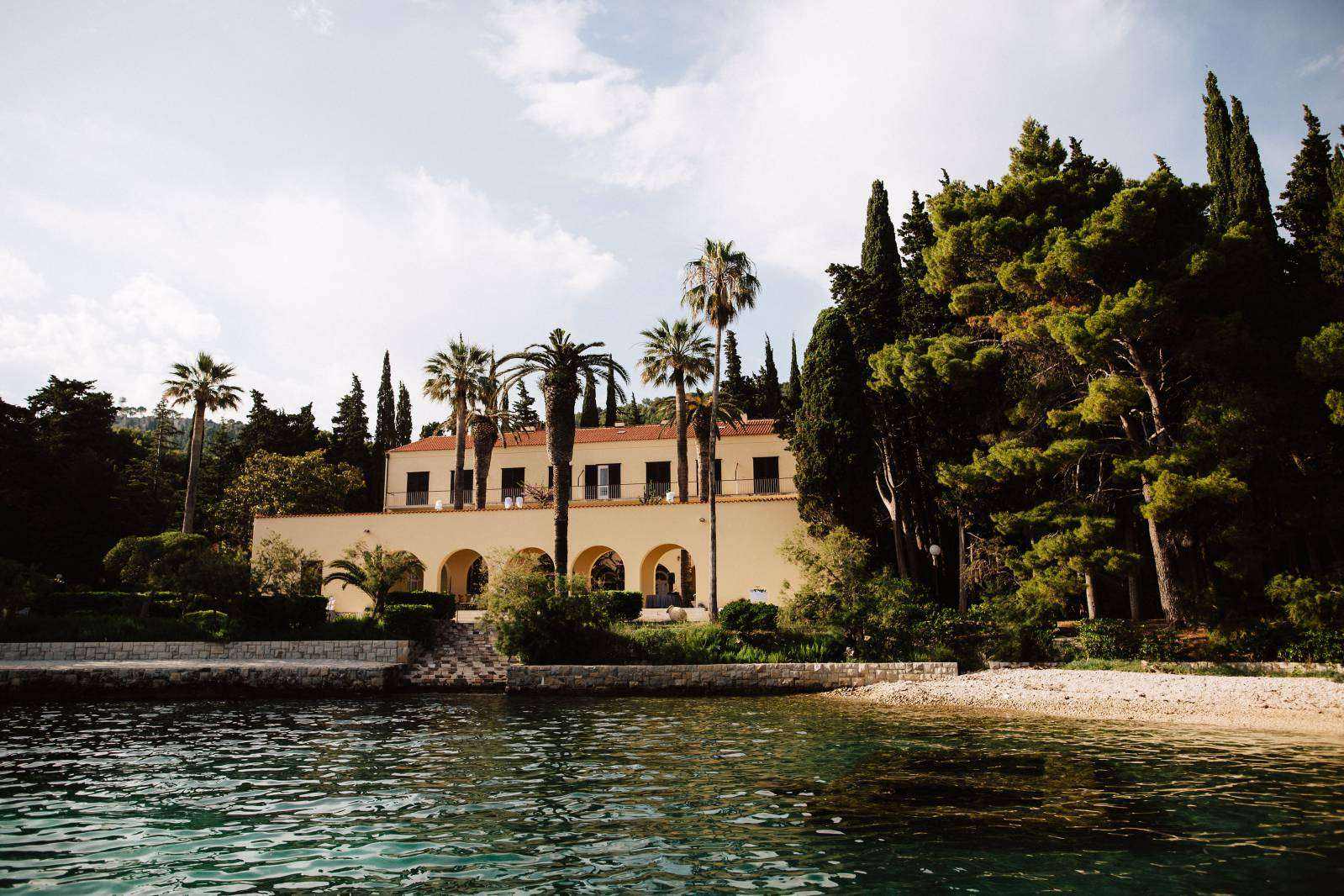 wedding venues in croatia, villa dalmacija split