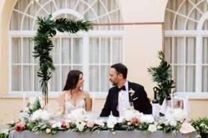 wedding florist split