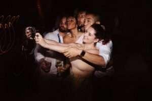 wedding lights split