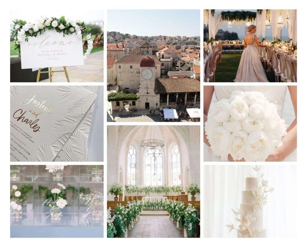 elegant destination wedding